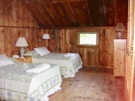 West Tisbury Martha's Vineyard vacation rental - Two full beds make room for stretching out or cozy cuddles.