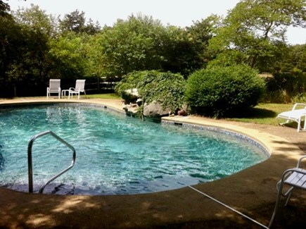 West Tisbury Martha's Vineyard vacation rental - Beautiful semi-private pool set back in a secluded area.