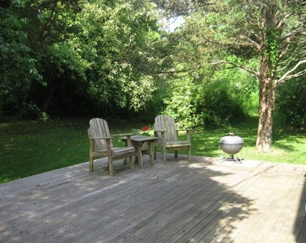 West Tisbury Martha's Vineyard vacation rental - Sit outside and enjoy a cup of your favorite beverage.