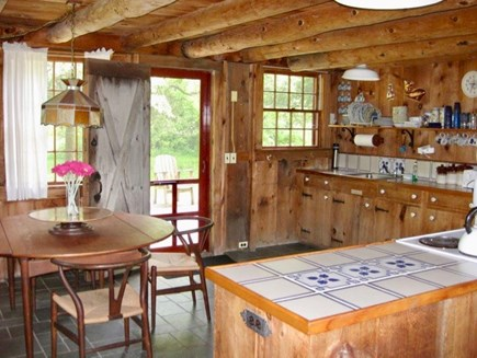 West Tisbury Martha's Vineyard vacation rental - Enjoy beautiful fresh air breezes in this gorgeous kitchen.