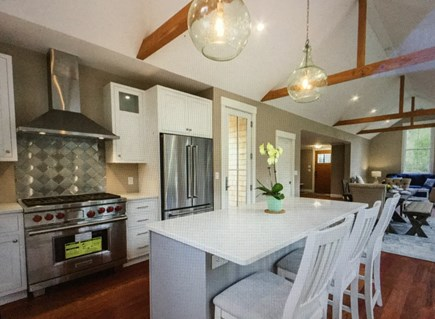 Katama - Edgartown Martha's Vineyard vacation rental - Brand new kitchen with 6-burner Wolf range
