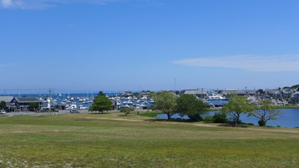 Oak Bluffs Martha's Vineyard vacation rental - View of the harbor & sunset lake as you stroll down to town