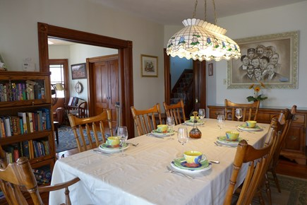 Oak Bluffs Martha's Vineyard vacation rental - Traditional dining room to be enjoyed with family & friends