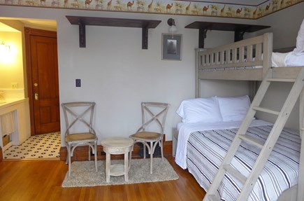 Oak Bluffs Martha's Vineyard vacation rental - 2nd Fl Set of Bunks with Queen on a bottom & Twin on a top