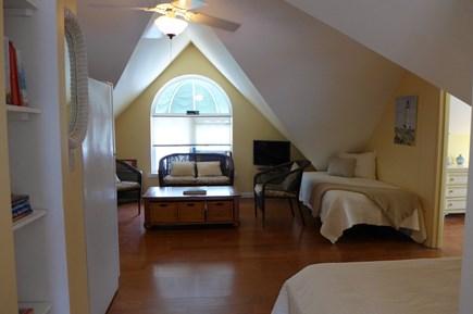 Oak Bluffs Martha's Vineyard vacation rental - 3rd Fl Loft 2 Twins/ Media room