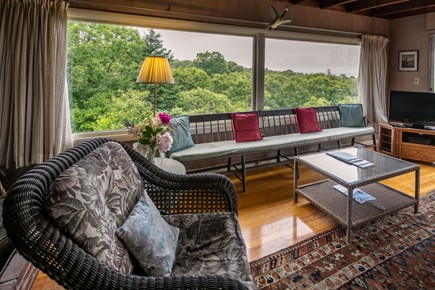 Aquinnah Martha's Vineyard vacation rental - Living room another view