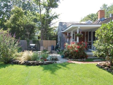 Vineyard Haven Martha's Vineyard vacation rental - Nice side yard and garden
