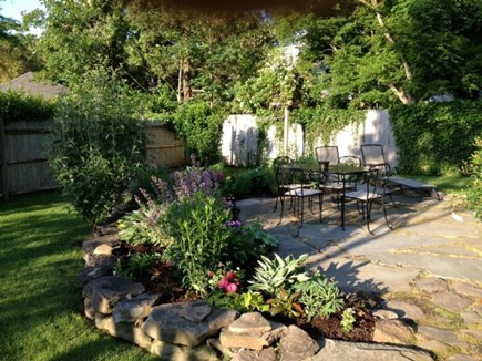 Vineyard Haven Martha's Vineyard vacation rental - Enjoy the outdoor patio