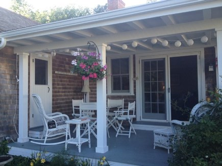 Vineyard Haven Martha's Vineyard vacation rental - Covered porch