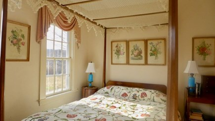 West Tisbury Martha's Vineyard vacation rental - This bedroom's made for daydreaming too.