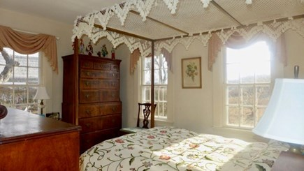 West Tisbury Martha's Vineyard vacation rental - A touch of lace to lay down under.