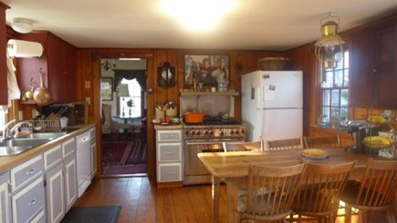 West Tisbury Martha's Vineyard vacation rental - Well appointed kitchen features top of the line appliances.