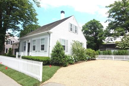 Edgartown Martha's Vineyard vacation rental - Exterior front and driveway