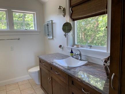 Aquinnah Martha's Vineyard vacation rental - Bathroom granite counters