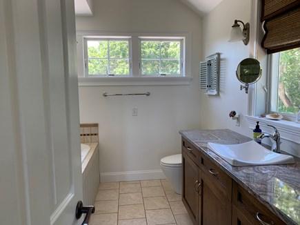 Aquinnah Martha's Vineyard vacation rental - Bathroom, double sized shower