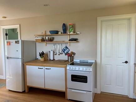 Aquinnah Martha's Vineyard vacation rental - Kitchen brand new refrigerator and stove