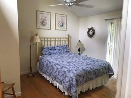 West Tisbury Martha's Vineyard vacation rental - Downstairs Bedroom #2 (queen bed)