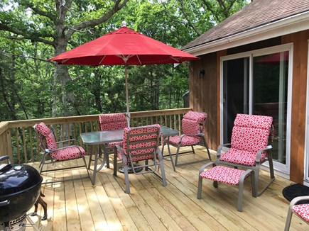 West Tisbury Martha's Vineyard vacation rental - Patio