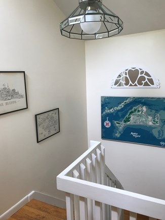 West Tisbury Martha's Vineyard vacation rental - Stairwell