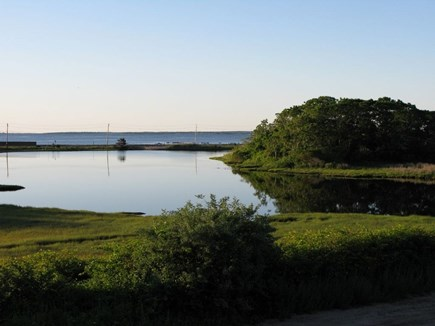 Oak Bluffs Martha's Vineyard vacation rental - Farm Pond View Dusk