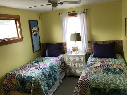 Oak Bluffs Martha's Vineyard vacation rental - Back bedroom w/twin beds