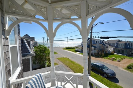 Oak Bluffs Martha's Vineyard vacation rental - Waterview from the master bedroom balcony
