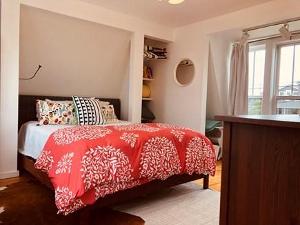 Oak Bluffs Martha's Vineyard vacation rental - Queen Bed in upstairs.  Also a bureau, closet, washer/dryer.