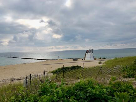 Oak Bluffs Martha's Vineyard vacation rental - Inkwell beach, lifeguard, gathering of the Polar Bears steps away