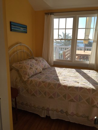 Oak Bluffs, On Farm Pond Martha's Vineyard vacation rental - Double room front, overlooking front porch