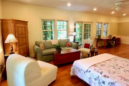 Katama - Edgartown Martha's Vineyard vacation rental - Bask in the sun in this in-ground heated pool with pool house.