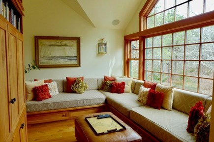 Katama - Edgartown Martha's Vineyard vacation rental - Master bedroom has a balcony and ensuite to write home about.