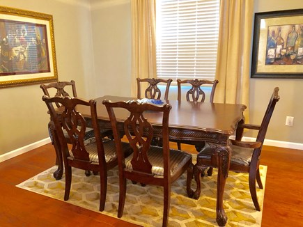Oak Bluffs Martha's Vineyard vacation rental - Host a family dinner in this formal dining room.