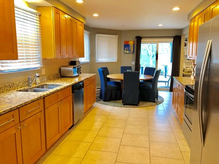 Oak Bluffs Martha's Vineyard vacation rental - Fully equipped kitchen and eating area.