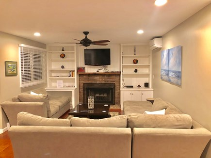 Oak Bluffs Martha's Vineyard vacation rental - Gather to watch your favorite movie in this cozy family.