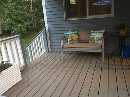 Oak Bluffs Martha's Vineyard vacation rental - Enjoy your morning coffee on the porch!
