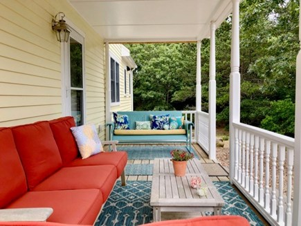 Chilmark Martha's Vineyard vacation rental - Comfortable and calming back porch for lounging.