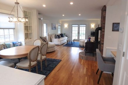 Chilmark Martha's Vineyard vacation rental - Open floor plan with clear site lines, good for gathering.