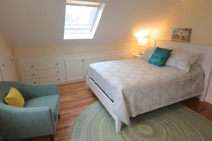Chilmark Martha's Vineyard vacation rental - Upstairs queen shared with trundle bed.