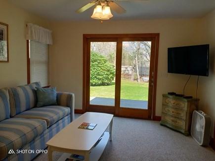 Katama - Edgartown, Edgartown Martha's Vineyard vacation rental - First level den with access to deck