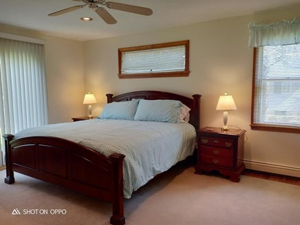 Katama - Edgartown, Edgartown Martha's Vineyard vacation rental - First level queen bedroom with attached bath
