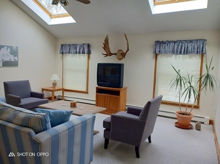 Katama - Edgartown, Edgartown Martha's Vineyard vacation rental - Second level living room