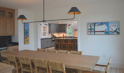 Oak Bluffs Martha's Vineyard vacation rental - Dining Area to Kitchen