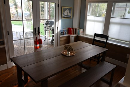Vineyard Haven, In the heart of the Village of Martha's Vineyard vacation rental - Dining Room.