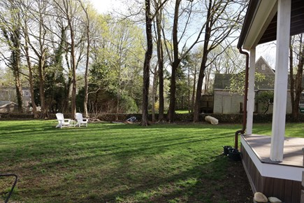 Vineyard Haven Martha's Vineyard vacation rental - Backyard.