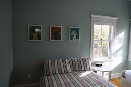 Vineyard Haven, In the heart of the Village of Martha's Vineyard vacation rental - Upstairs bedroom with Twin and Double.