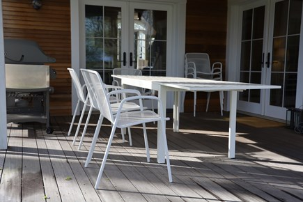 Vineyard Haven, In the heart of the Village of Martha's Vineyard vacation rental - Outdoor dining!