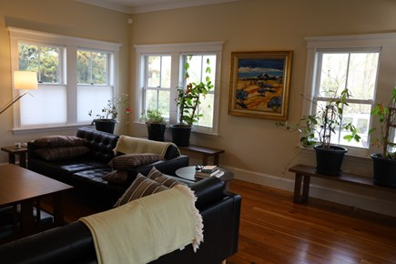 Vineyard Haven, In the heart of the Village of Martha's Vineyard vacation rental - Living Room.