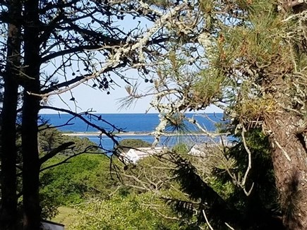 Oak Bluffs, Waterview Farms Martha's Vineyard vacation rental - 2nd Floor Deck View