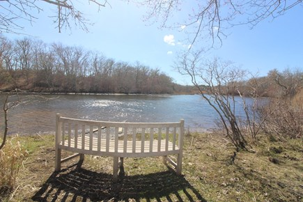 Edgartown Martha's Vineyard vacation rental - Path to Edgartown Great Pond