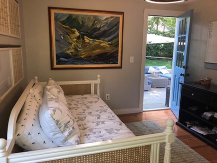Oak Bluffs Martha's Vineyard vacation rental - Bedroom #4 with patio access